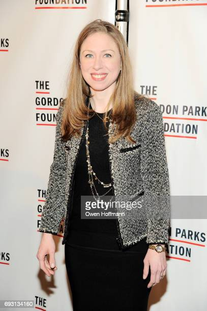 Chelsea Clinton attends the Gordon Parks Foundation Awards Dinner Auction at Cipriani 42nd Street on June 6 2017 in New York City