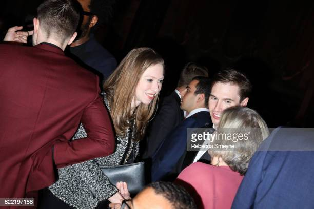 Chelsea Clinton attends the Gordon Parks Foundation Awards Dinner at Cipriani 42nd on June 6 2017 in New York City