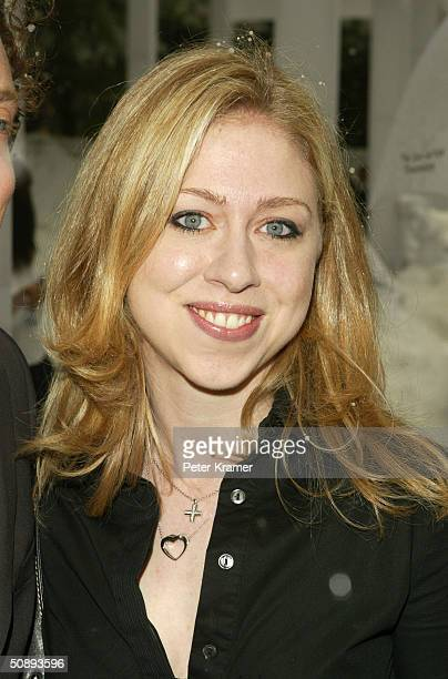 Chelsea Clinton attends the New York Premiere of 'The Day After Tomorrow' on May 24 2004 in New York City