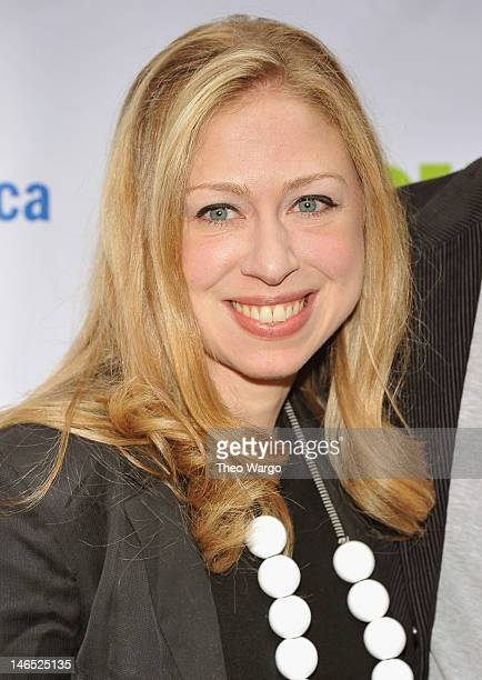 Chelsea Clinton attends the Public Theater 50th Anniversary Gala at Delacorte Theater on June 18, 2012 in New York City.