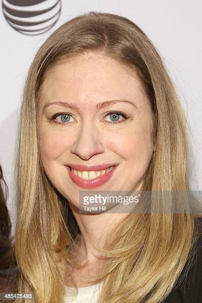 Chelsea Clinton attends the Shorts Program City Limits during the 2014 Tribeca Film Festival at AMC Loews Village 7 on April 17 2014 in New York City
