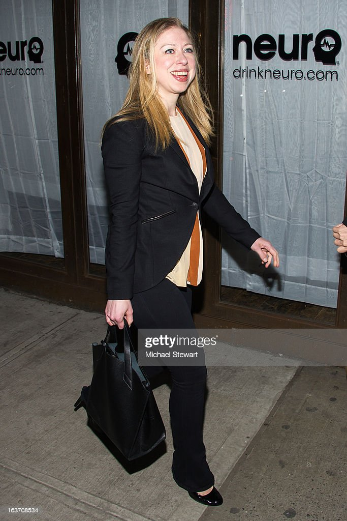 Chelsea Clinton attends Timbaland's Birthday Celebration at Southern Hospitality on March 14, 2013 in New York City.
