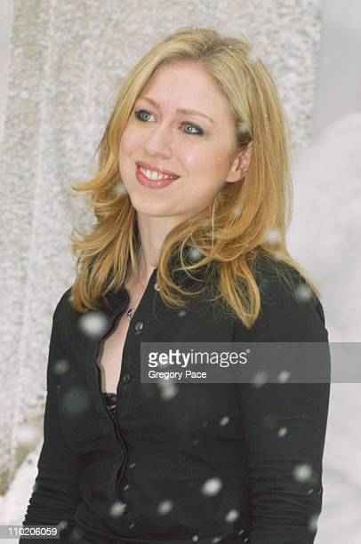 Chelsea Clinton during 'The Day After Tomorrow' New York Premiere Arrivals at American Museum of Natural History in New York City New York United...
