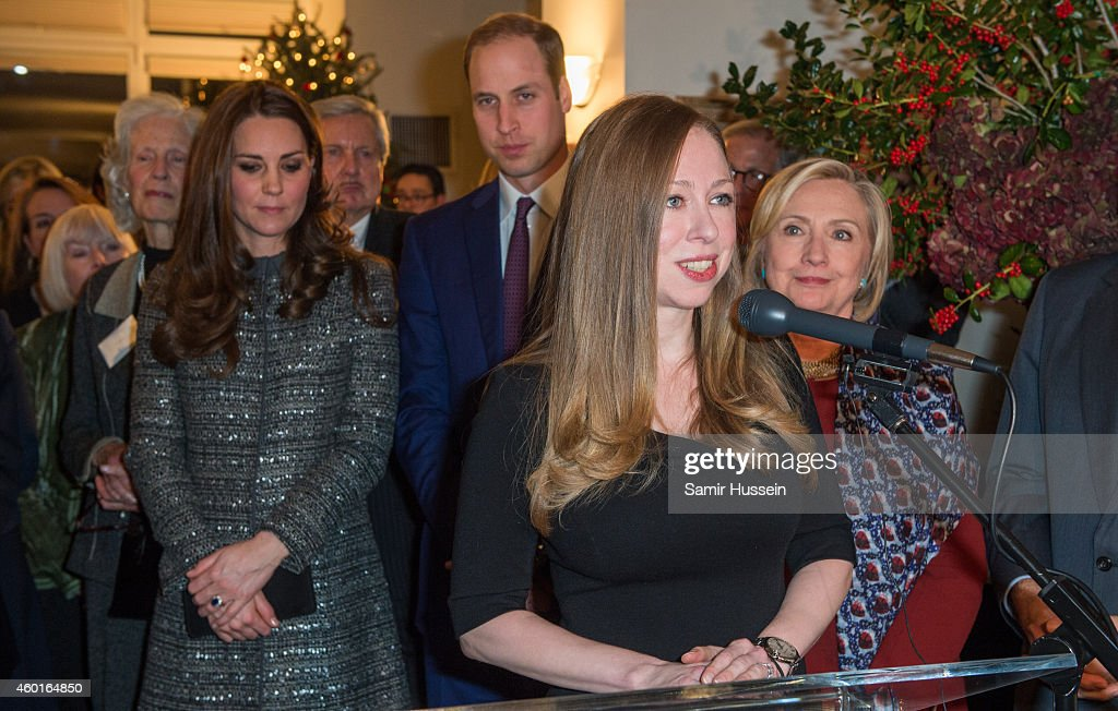 The Duke Of Cambridge Attends The Conservation Reception : News Photo