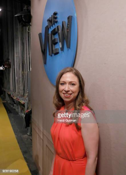 THE VIEW Chelsea Clinton is the guest and Amber Tamblyn is the guest cohost today Tuesday March 6 2018 on ABC's 'The View' 'The View' airs...