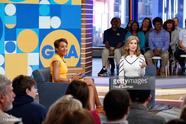 Chelsea Clinton Jeanette Jenkins Victoria Osteen and Gwendoline Christie are the guests today Wednesday 4/3/19 on Walt Disney Television via Getty...