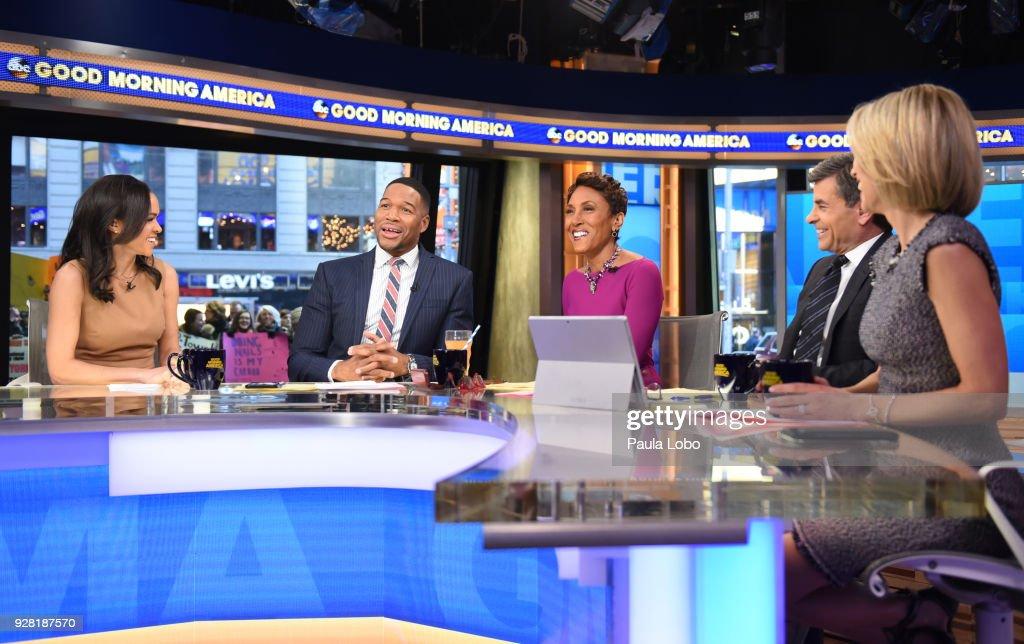 "ABC's ""Good Morning America"" - 2018 : News Photo"