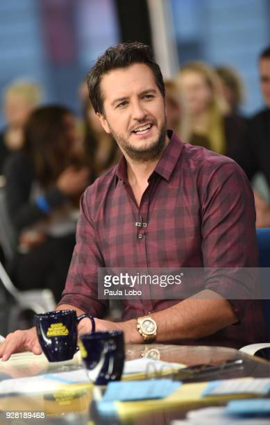 Chelsea Clinton Luke Bryan Ava Duvernay and Val Chmerkovskiy are the guests on 'Good Morning America' Tuesday March 6 2018 airing on the ABC...
