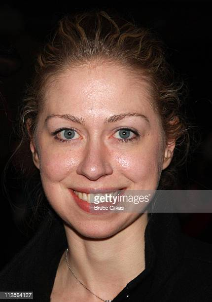 Chelsea Clinton poses at The Homecoming on Broadway's Broadway Cares/Equity Fights AIDS Benefit on November 25 2007 at New World Stages Theater in...