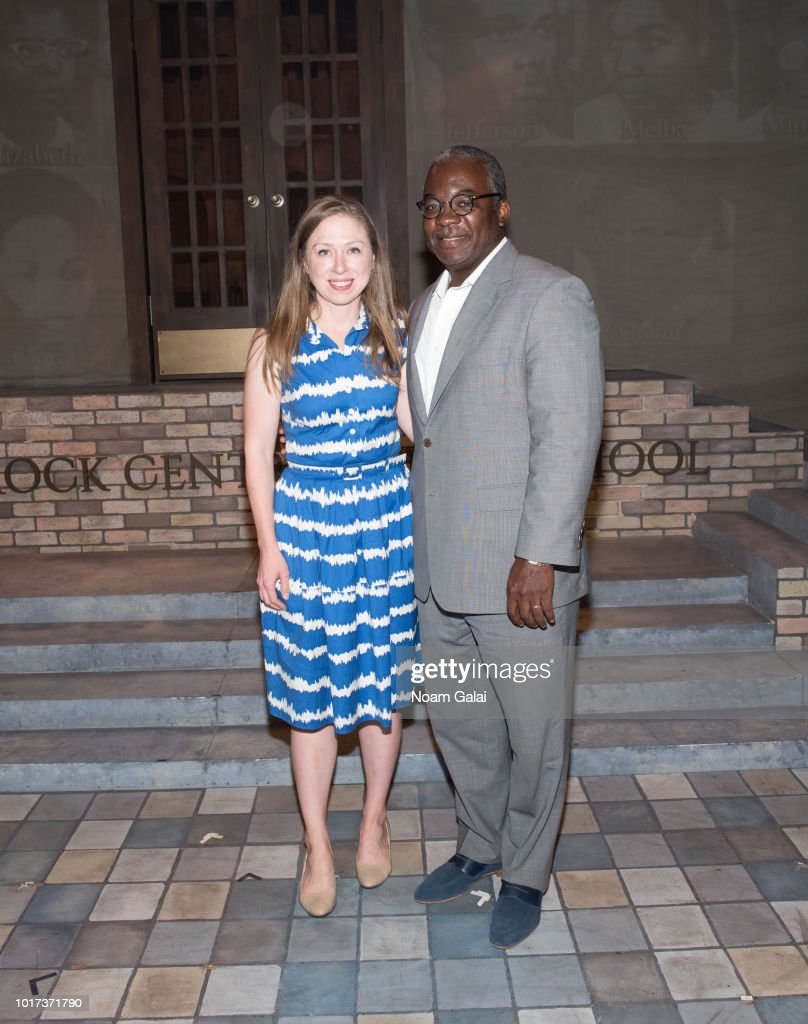 "Chelsea Clinton Visits ""Little Rock"" Off Broadway"