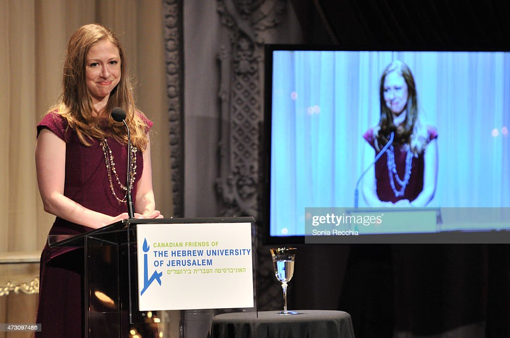 Chelsea Clinton Takes To The Stage As The Featured Speaker At The Einstein Legacy Awards