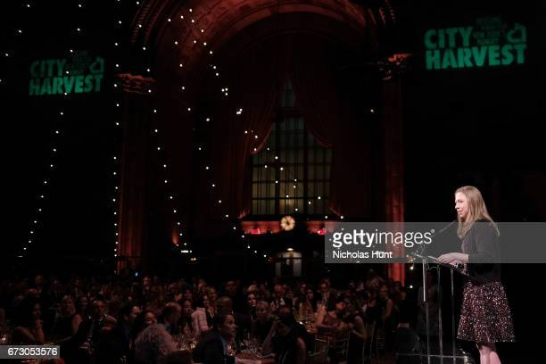 Chelsea Clinton speaks onstage at City Harvest's 23rd Annual Evening Of Practical Magic at Cipriani 42nd Street on April 25, 2017 in New York City.