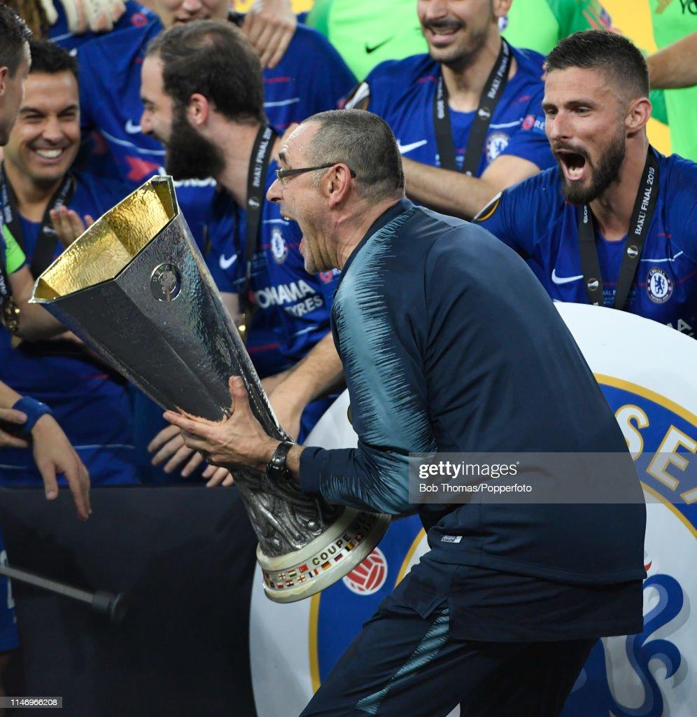 UEFA Europa Final Chelsea v Arsenal : News Photo
