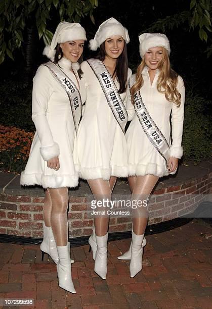 Chelsea Cooley Miss USA 2005 Natalia Glebova Miss Universe 2005 and Allie LaForce Miss Teen USA 2005