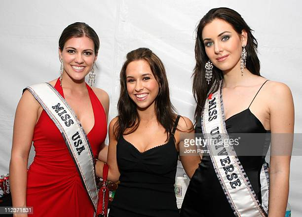 Chelsea Cooley Miss USA, Lacey Chabert and Natalie Glebova Miss Universe