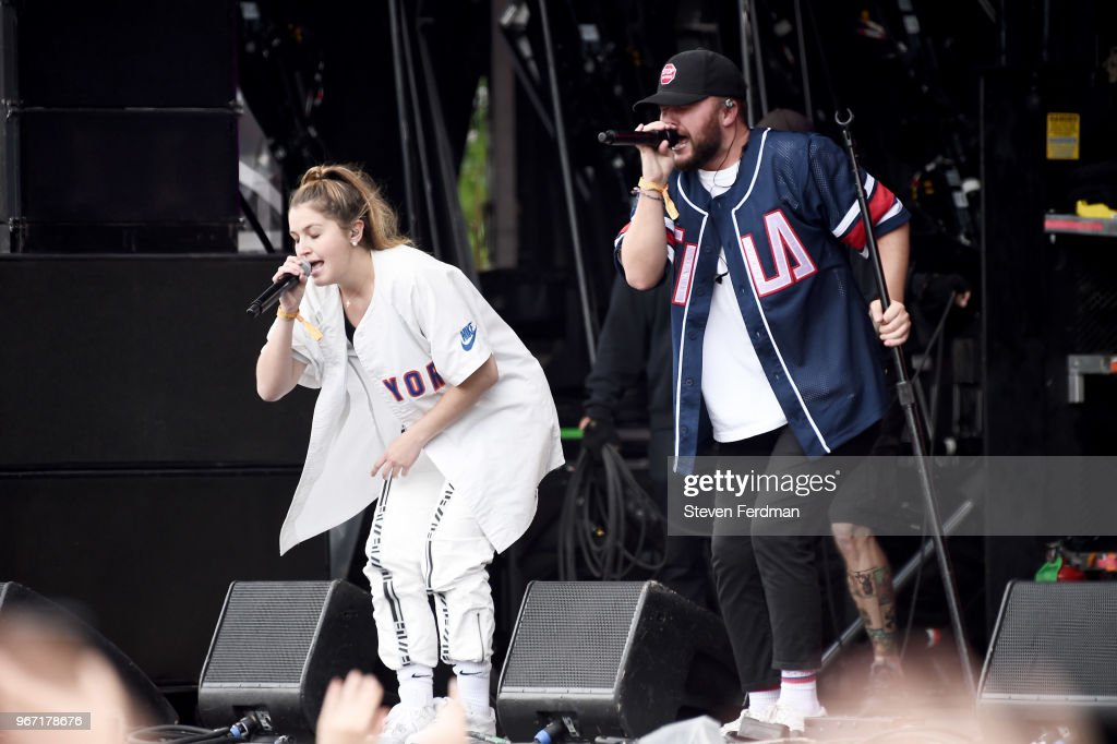 Chelsea Cutler performs live on stage with Quinn XCII during Day 3