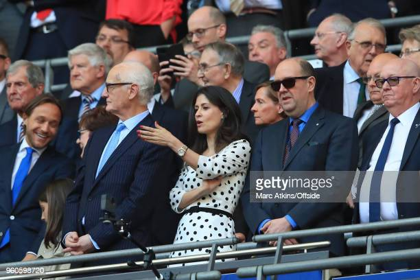 Chelsea Director Marina Granovskaia during The Emirates FA Cup Final between Chelsea and Manchester United at Wembley Stadium on May 19 2018 in...