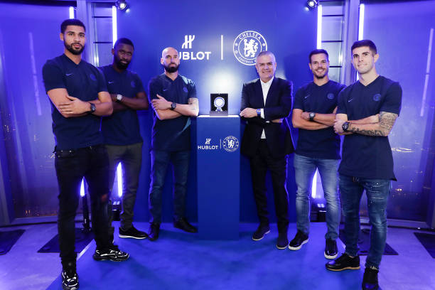 GBR: Hublot And Chelsea FC Celebrate Partnership And Launch Classic Fusion Chronograph Chelsea FC