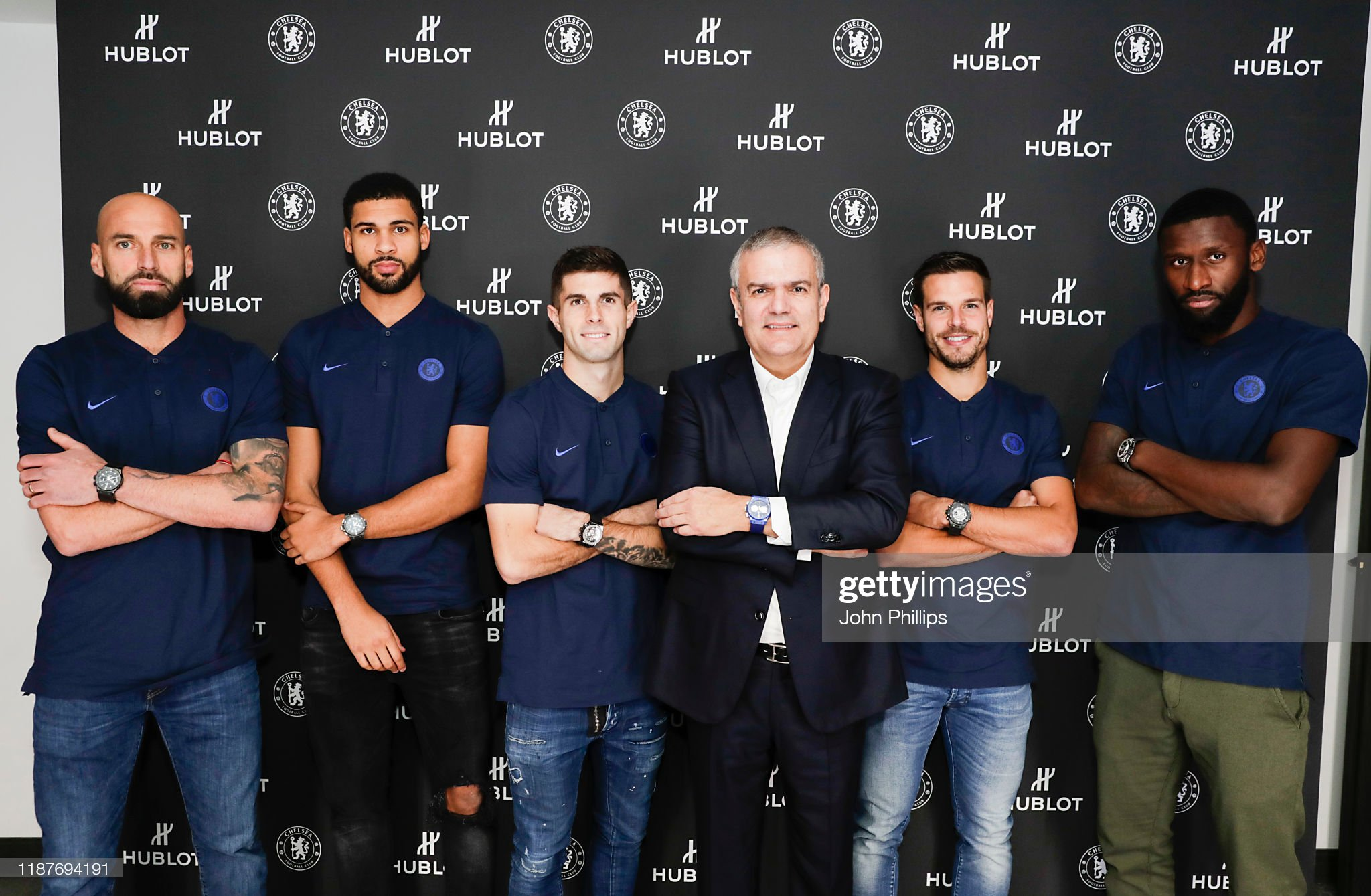 ¿Cuánto mide Christian Pulisic? - Altura - Real height Chelsea-fc-footballers-willy-caballero-ruben-loftuscheek-christian-picture-id1187694191?s=2048x2048