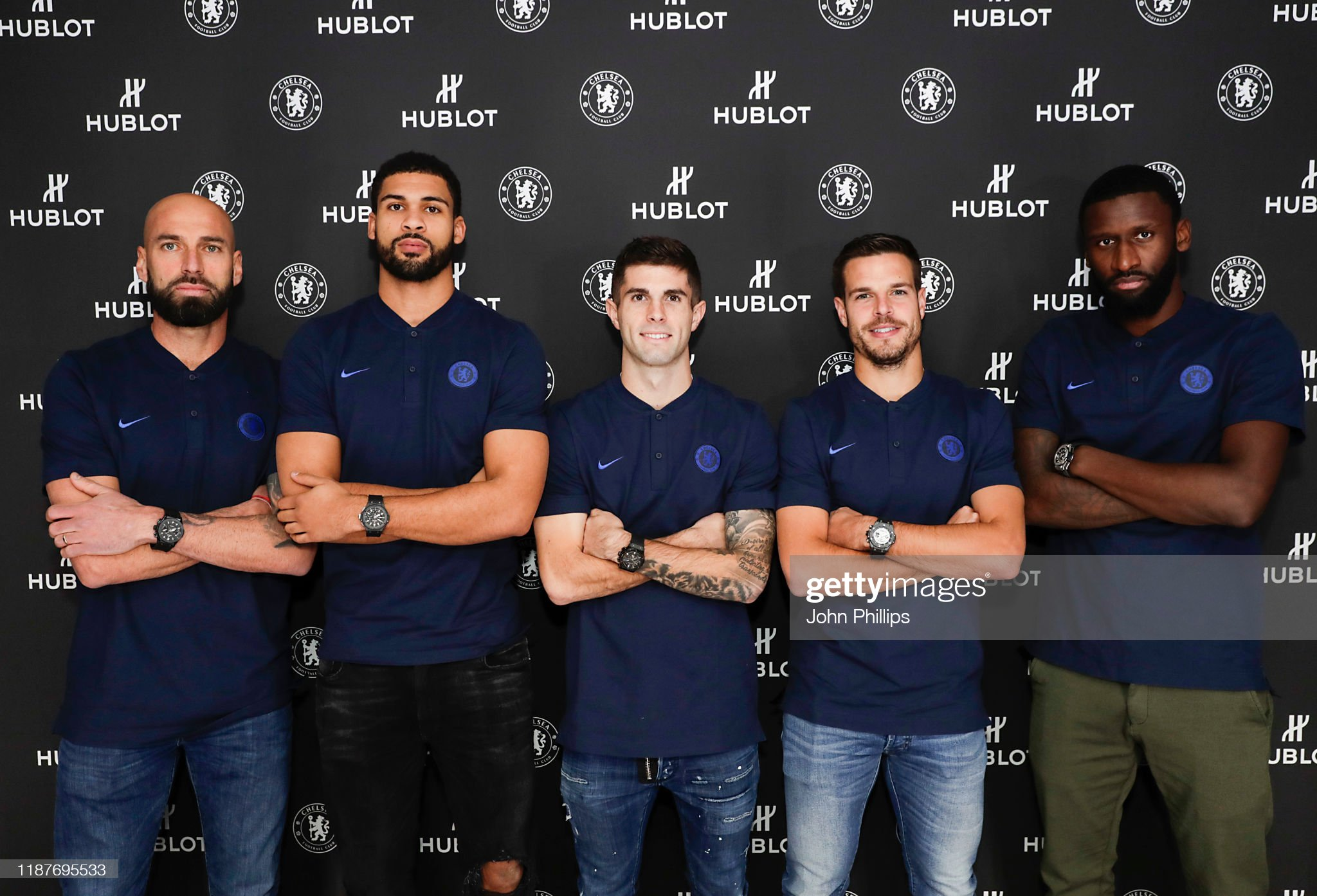 ¿Cuánto mide Christian Pulisic? - Altura - Real height Chelsea-fc-footballers-willy-caballero-ruben-loftuscheek-christian-picture-id1187695533?s=2048x2048
