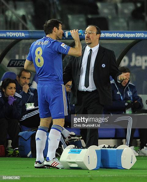 Chelsea Fc Latest News: Chelsea FC Manager Rafael Benitez Makes A Point To Frank