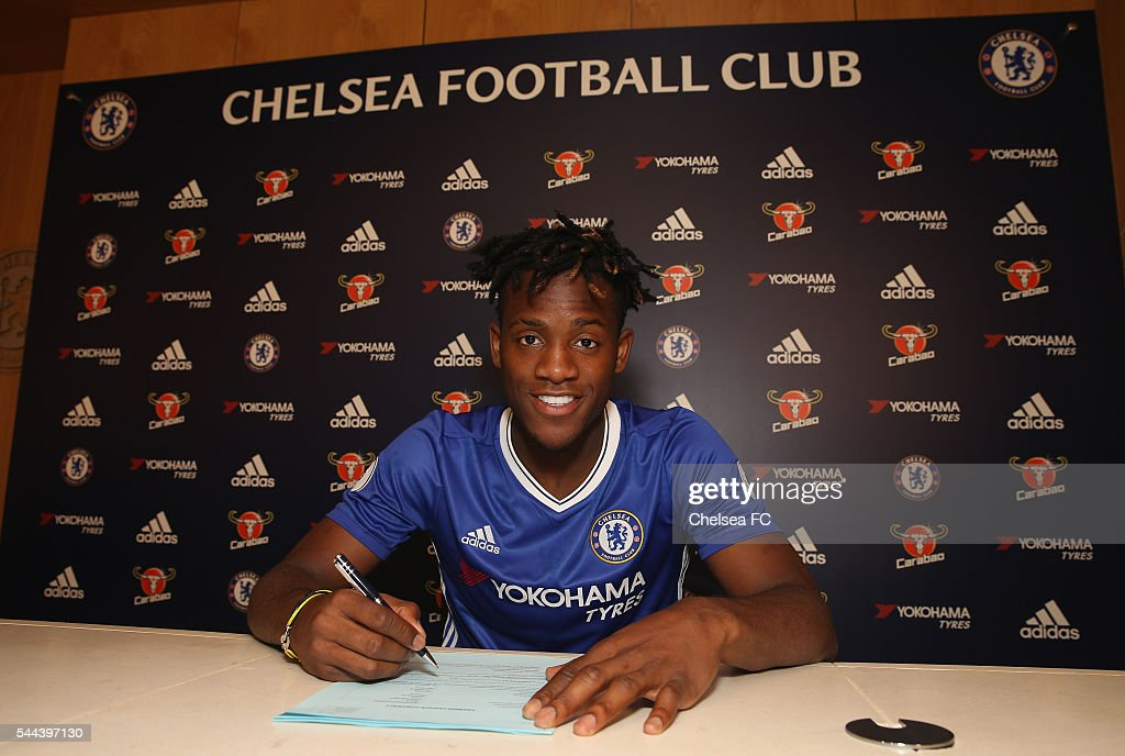 Chelsea Unveil New Signing Michy Batshuayi