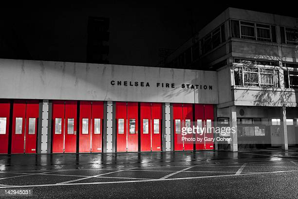 chelsea fire station - fire station stock pictures, royalty-free photos & images