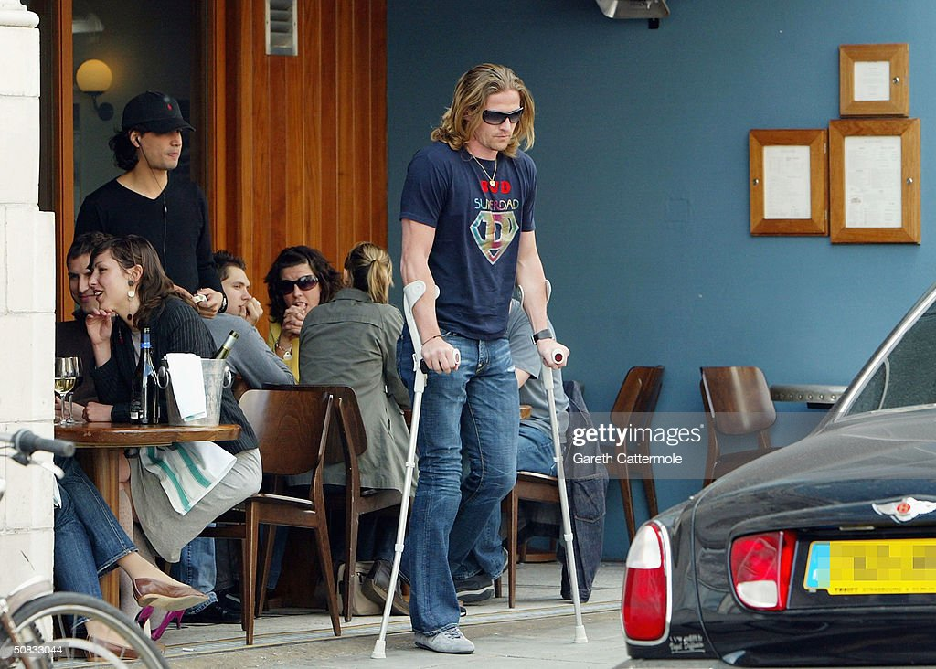 Emmanuel Petit Out In Notting Hill : News Photo