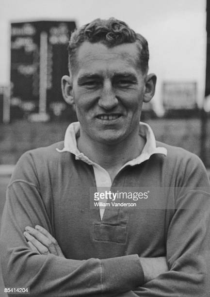 Chelsea footballer Roy Bentley, 16th August 1954.