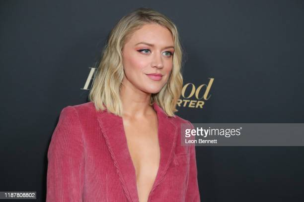Chelsea Frei attends HFPA And THR Golden Globe Ambassador Party at Catch LA on November 14 2019 in West Hollywood California