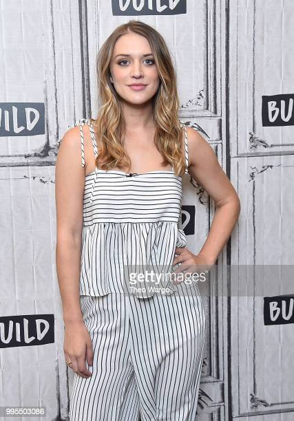 Chelsea Frei visits Build Brunch at Build Studio on July 10 2018 in New York City