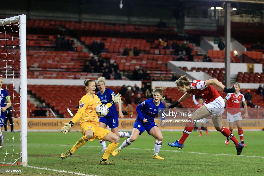 Chelsea v Arsenal - FA Women's Continental League Cup Final : News Photo