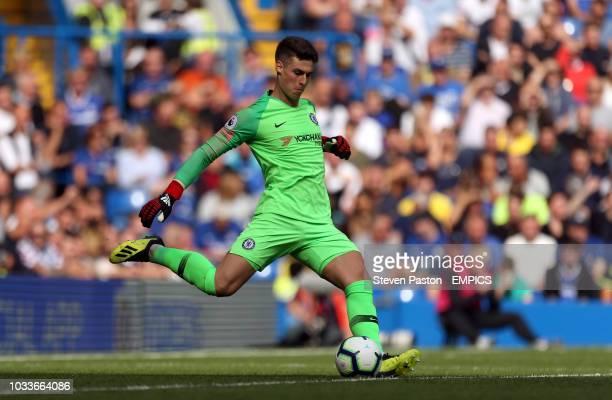 Chelsea goalkeeper Kepa Arrizabalaga Chelsea v Cardiff City Premier League Stamford Bridge