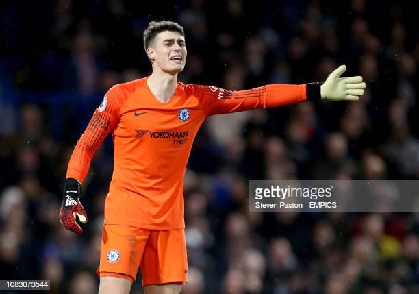 Chelsea goalkeeper Kepa Arrizabalaga Chelsea v Newcastle United Premier League Stamford Bridge