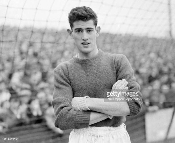 Chelsea goalkeeper Peter Bonetti before their match against West Ham United at Upton Park in London 21st January 1961