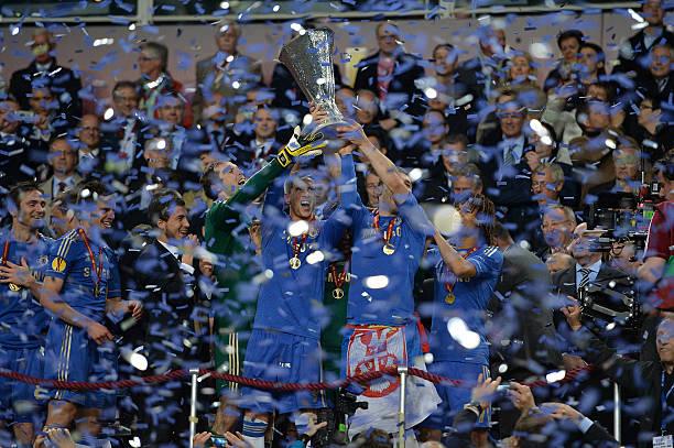 Soccer - UEFA Europa League Final - Benfica v Chelsea - Amsterdam Arena