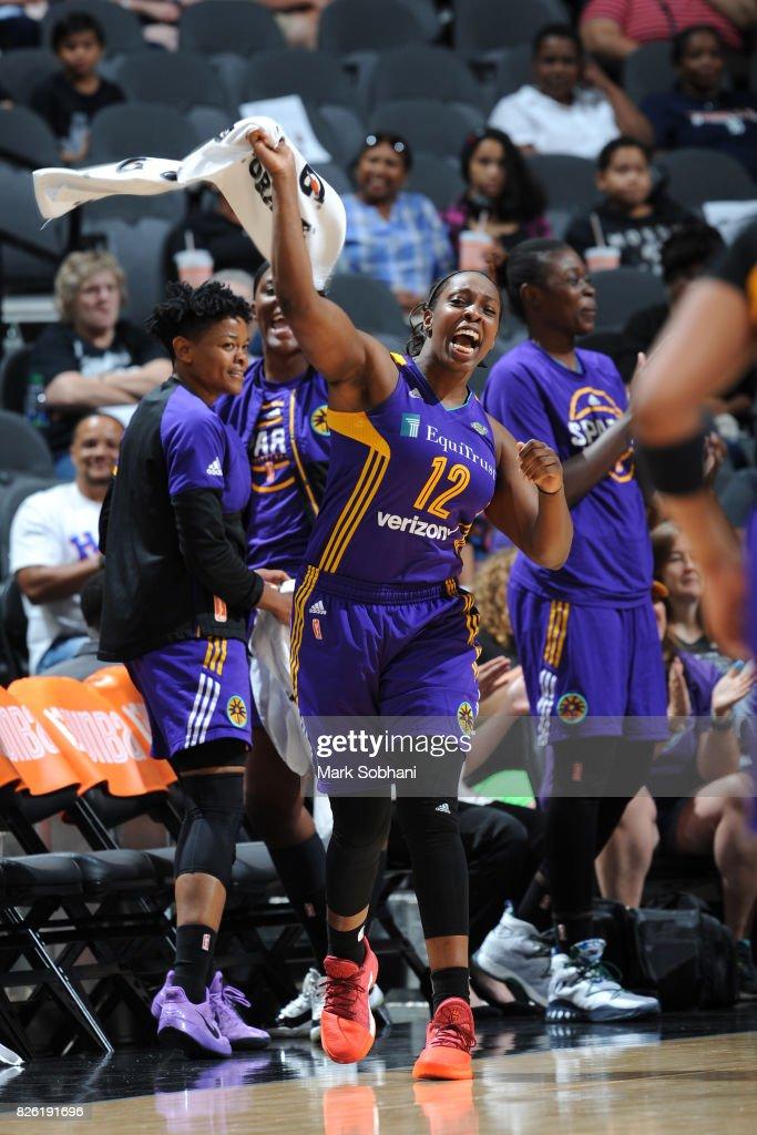 Los Angeles Sparks v San Antonio Stars