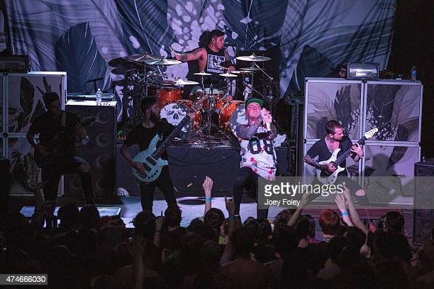 Chelsea Grin performs at The Emerson Theater on May 3 2015 in Indianapolis Indiana
