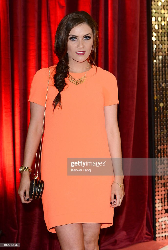 Chelsea Halfpenny attends the British Soap Awards at Media City on May 18, 2013 in Manchester, England.