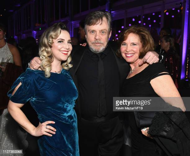 Chelsea Hamill Mark Hamill and Marilou York attend the 2019 Vanity Fair Oscar Party hosted by Radhika Jones at Wallis Annenberg Center for the...