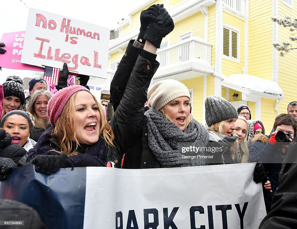 Women's March On Main - Park City 2017 : News Photo