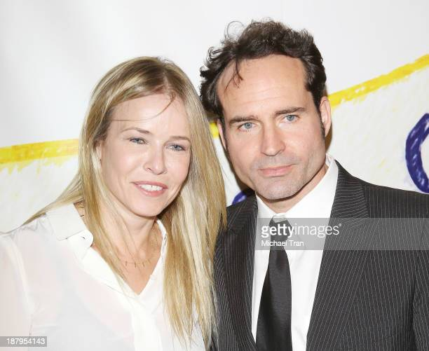 Chelsea Handler and Jason Patric arrive at the 'Stand Up For Gus' benefit event held at Bootsy Bellows on November 13 2013 in West Hollywood...