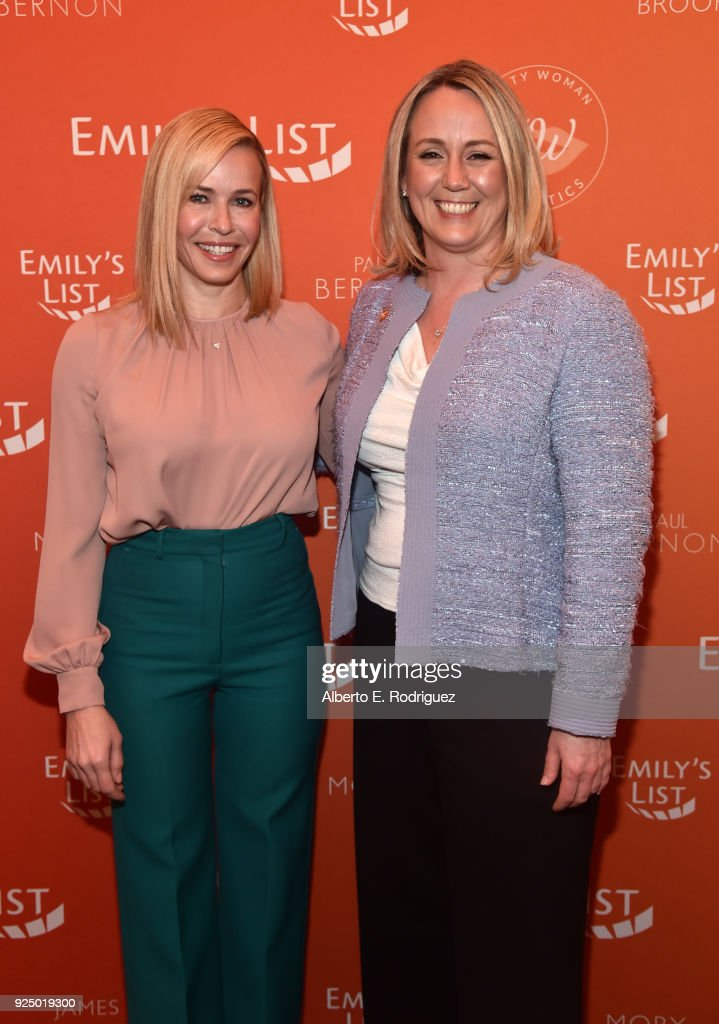 EMILY's List Pre-Oscars Brunch And Panel : News Photo