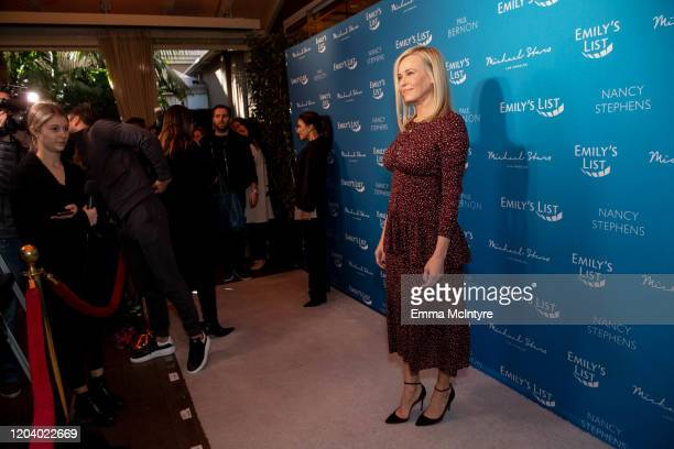 Chelsea Handler arrives at Emily's List 3rd annual pre-oscars event at Four Seasons Hotel Los Angeles at Beverly Hills on February 04, 2020 in Los...