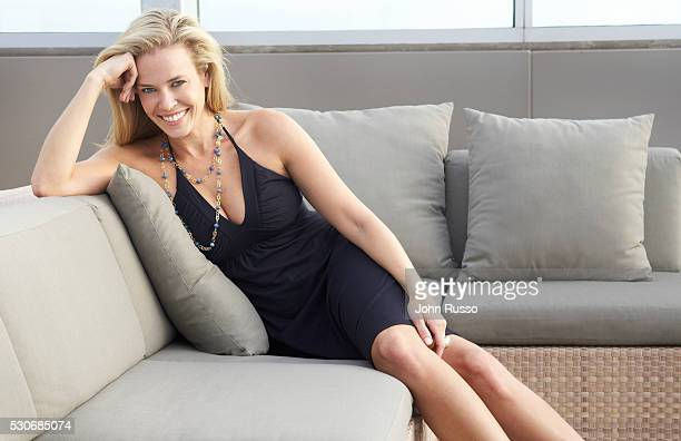 Chelsea Handler at Home