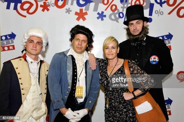 Chelsea Handler at Politicon at Pasadena Convention Center on July 29 2017 in Pasadena California