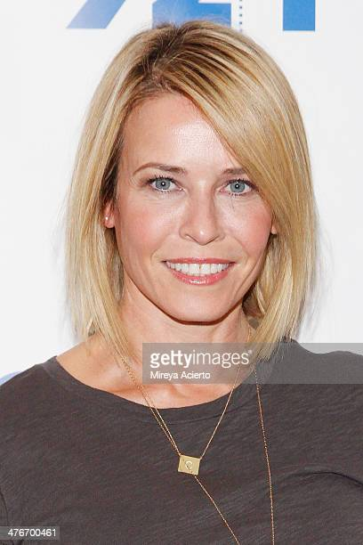 Chelsea Handler attends '92nd Street Y Presents An Evening With Chelsea Handler And Ronan Farrow' at 92nd Street Y on March 4 2014 in New York City
