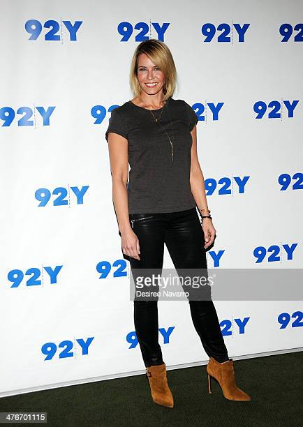 Chelsea Handler attends 'An Evening With Chelsea Handler And Ronan Farrow' at 92nd Street Y on March 4 2014 in New York City