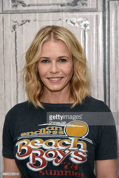 Chelsea Handler attends AOL Build to discuss the new season of her hit Netflix show Chelsea at AOL HQ on August 25 2016 in New York City