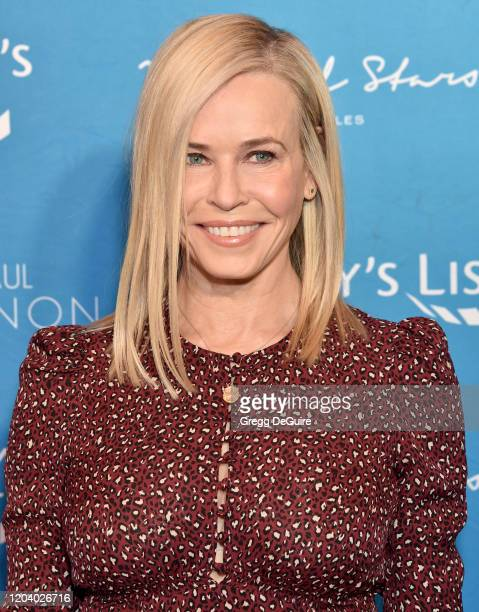 Chelsea Handler attends EMILY's List 3rd Annual Pre-Oscars Event at Four Seasons Hotel Los Angeles at Beverly Hills on February 04, 2020 in Los...